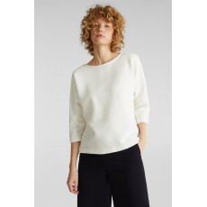 Esprit Ottoman Shirt Off White