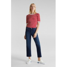 Esprit Stripe T-Shirt Dark Red