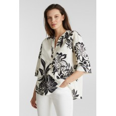 Esprit Soft P-Cotton Blouse Off White