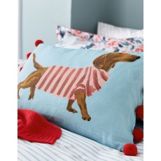 Joules Falmouth Dogs Cushion