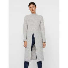 Vero Moda Gaiva LS Funnel neck Slit Dress