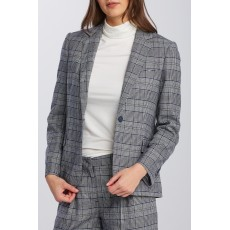 Gant Check Flannel Evening Blue Regular Fit Blazer