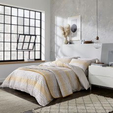 DKNY Soho Stripe Bedding Grey