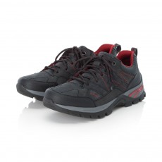 Rieker Black and Grey Trainer