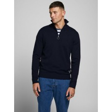 Jack & Jones Eli Knit High Neck Zip Pullover