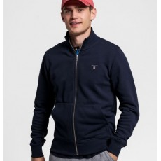 Gant The Original Evening Blue Full Zip Cardigan