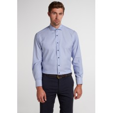 Eterna Shirt Blue/White