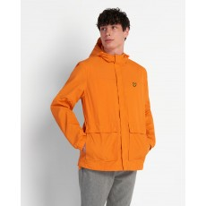 Lyle & Scott  Hooded Pocket Orange Jacket
