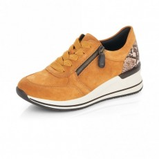 Remonte Wedged Sole Brown Trainer