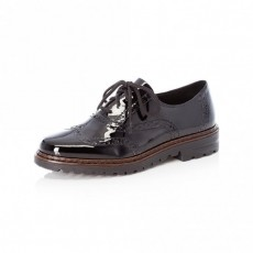 Rieker Black Brogue