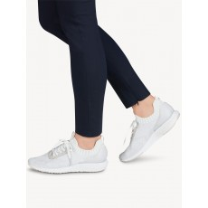 Tamaris Silver and Grey Trainer