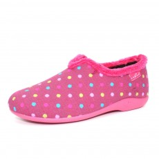 Lunar Lava Pink Spotty Slipper