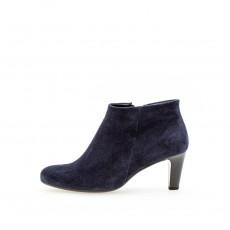 Gabor Small Navy Stiletto Ankle Boot
