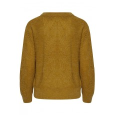 Ichi Ihorana Bronze Long Sleeve Jumper