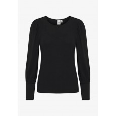 Ichi Ihvenus Black Long Sleeve Top