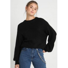 Ichi Ihamara Long Sleeve Black Jumper