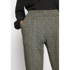 Ichi Ihkate Grid Black Trousers