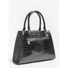 Guess Stephi Girlfriend Black Satchel