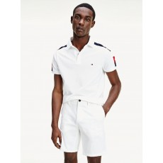 Tommy Hilfiger Colour Block Polo White