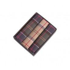 Barbour Tartan Pocket Square Hankie Selection