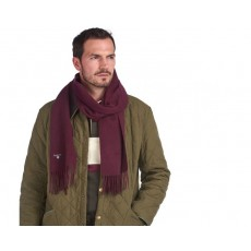 Barbour Plain Lambs Wool Scarf