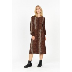 SoyaConcept Krista Dress Brown Combi