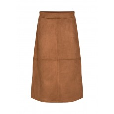 SoyaConcept Leane Skirt Suede Brown