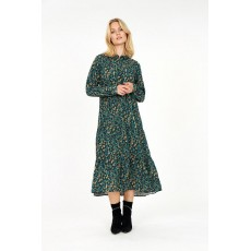 SoyaConcept Lioba Dress Deep Green Combi