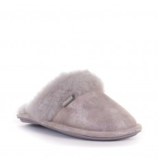 Bedroom Athletics Bonnie Glitter Mule Slipper Grey