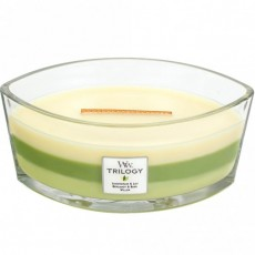 Woodwick Trilogy Ellipse Candle Botanical Garden
