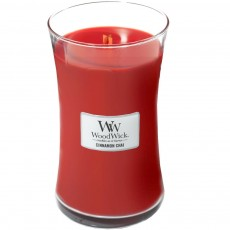 Woodwick Cinnamon Chai Large Hourglass Candle