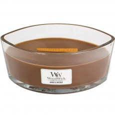Woodwick Ellipse Candle Amber & Incense