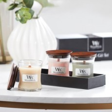 Woodwick Candle Mini Gift Set Fireside