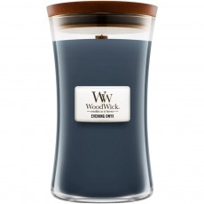 Woodwick Evening Onyx Large Hourglass Candle