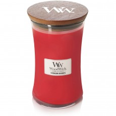 Woodwick Crimson Berries Large Hourglass Candle