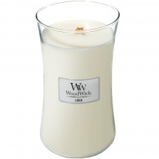 Woodwick Linen Large Hourglass Candle