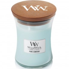 Woodwick Pure Comfort Medium Hourglass Candle