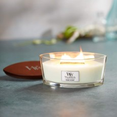 Woodwick Island Coconut Ellipse Candle