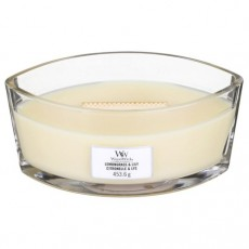 Woodwick Lemongrass & Lily Ellipse Candle
