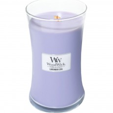 Woodwick Candle Lavender Spa Large