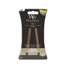 Woodwick Candle Auto Reed Refill Fireside