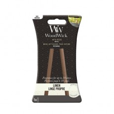 Woodwick Candle Auto Reed Refill Linen