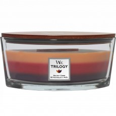 Woodwick Candle Holiday Cheer Trilogy Ellipse