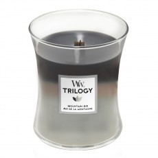 Woodwick Candle Mountain Air Trilogy Medium