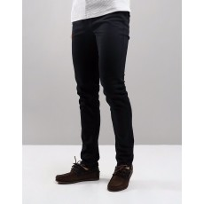 Farah Drake Clean Twill Black Trousers