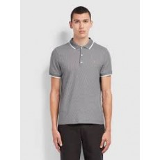 Farah Scotchill Short Sleeve True Navy Polo