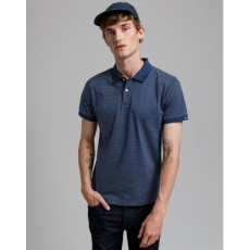 Gant Mini Jacquard Blue Short Sleeve Polo