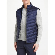 Gant Light Padded Navy Gilet