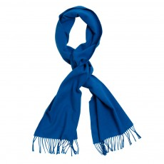 Gant Solid Wool Blue Scarf