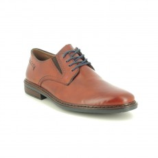 Rieker Navy and Peanut Brown Brogue